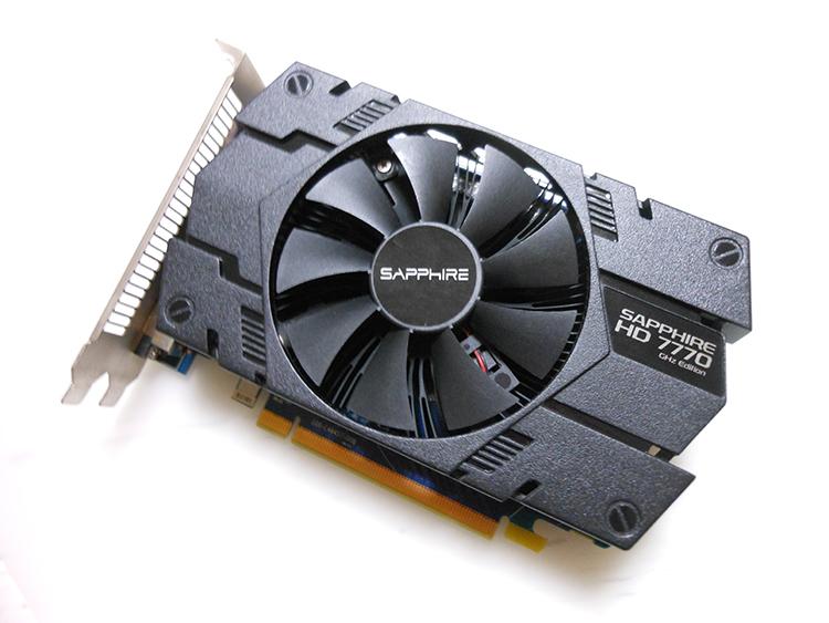 SAPPHIRE AMD RADEON HD7770 GHz Edition
